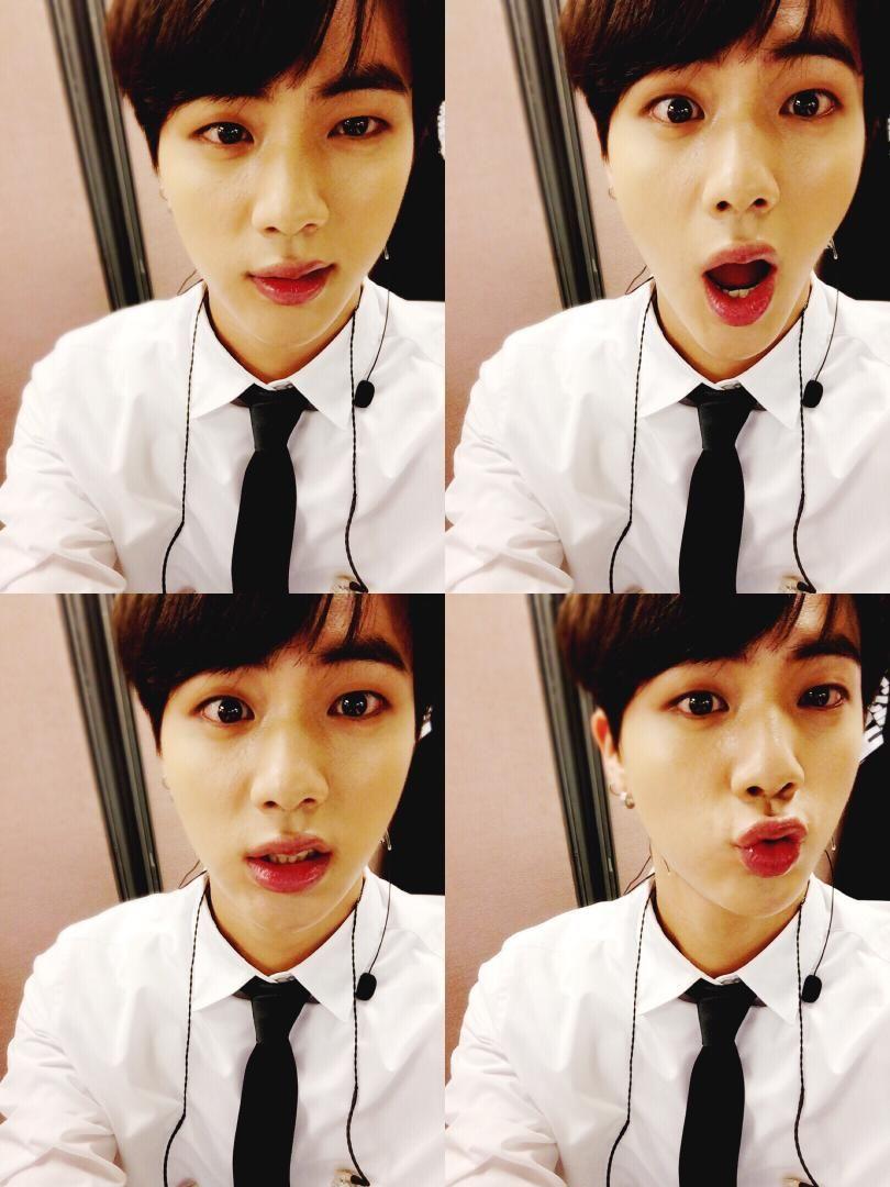 BTS Tweet - Jin (selca) 150625 #석진쩔어 -- [tran] #DopeSeokjin  Trans cr; Hyejin @ bts-trans