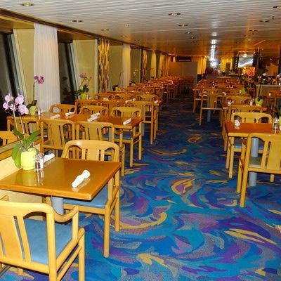 Lido Buffet Restaurant On The Holland America Veendam Cruise Ship