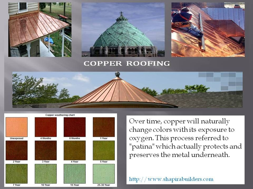 Copper Roofing Shapira Builders Copper Roof Roofing Copper