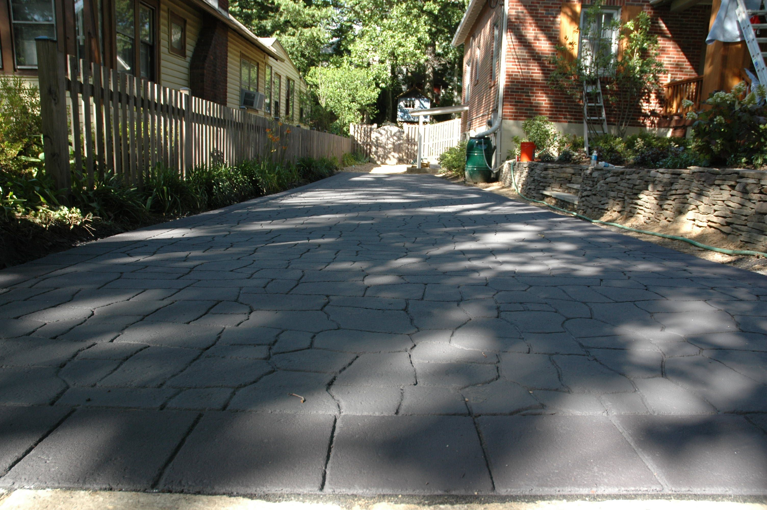 About How Much Does a Stamped Asphalt Driveway Cost
