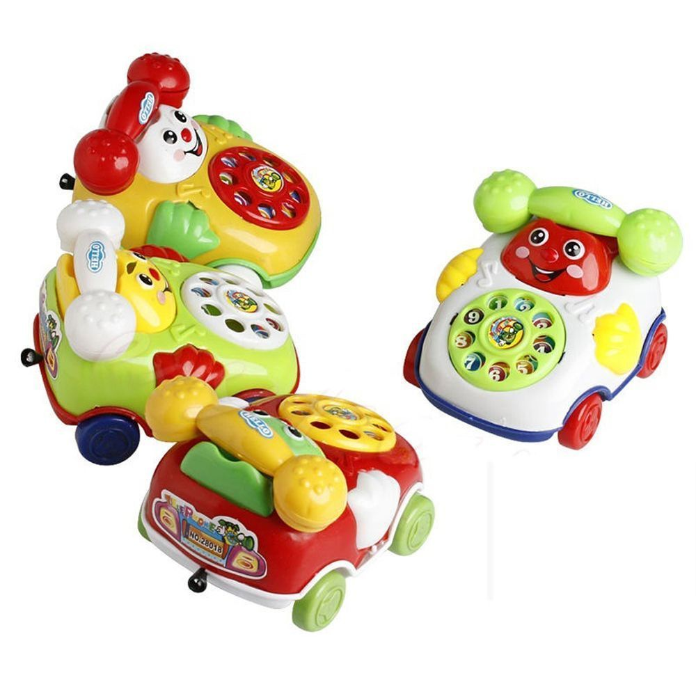 Baby toys images cartoon  Baby Toy Cartoon Phone Music Educational Kids Toys Gift