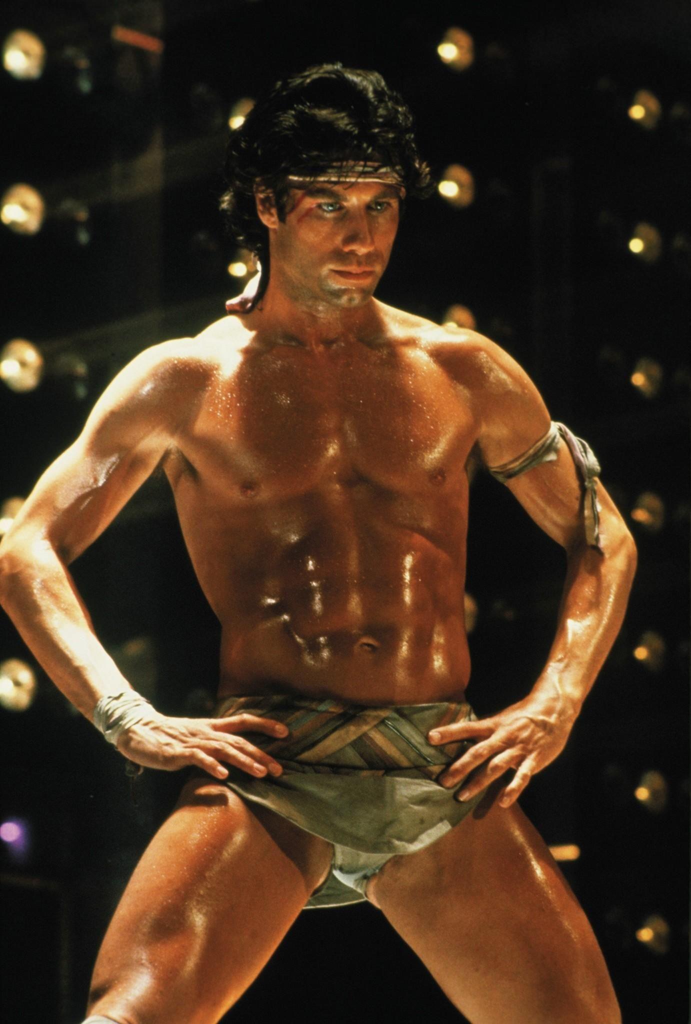 John Travolta In The Staying Alive Movie Eye Candy John