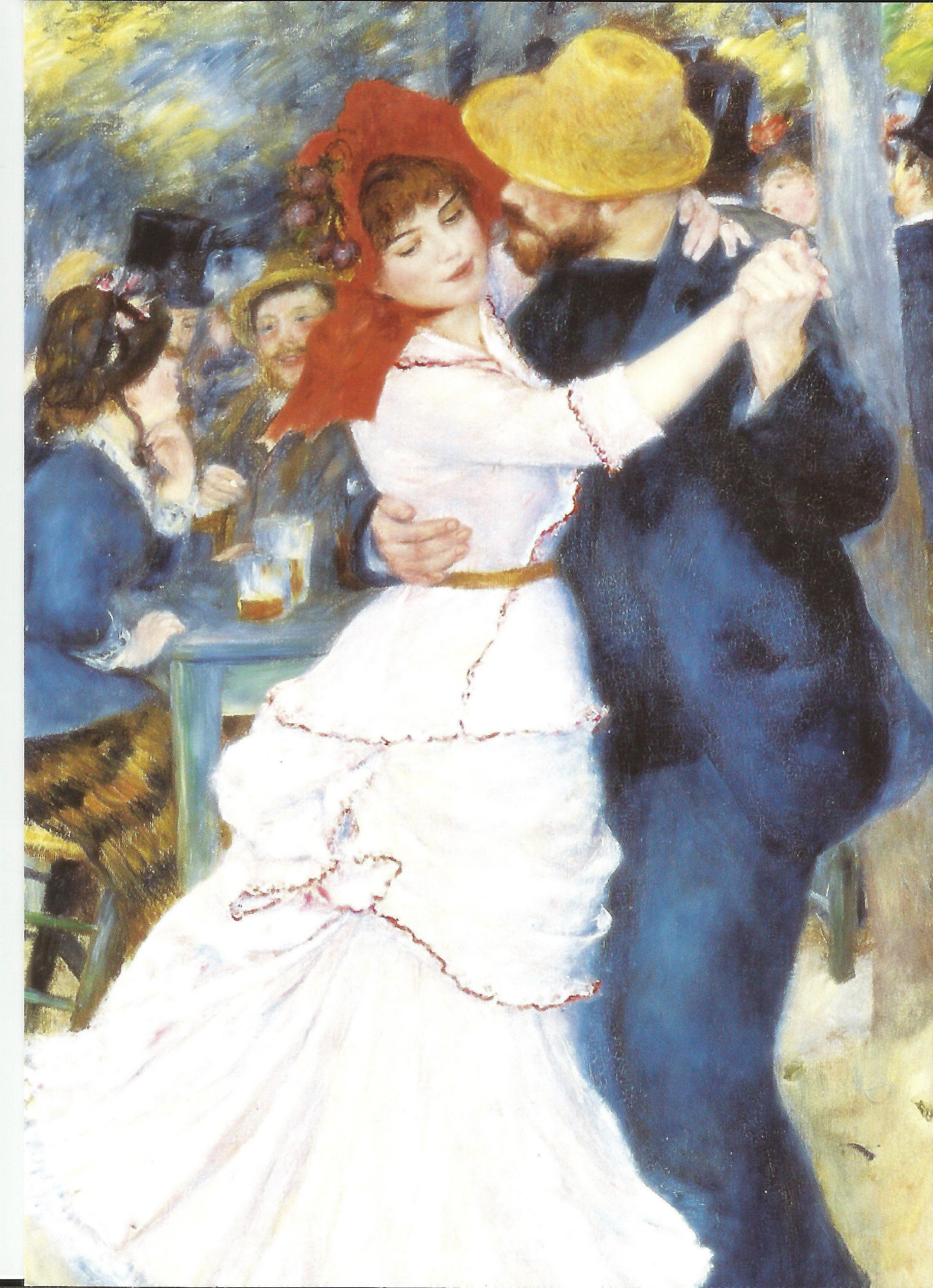 Dance At Bougival Renoir Oil Painting