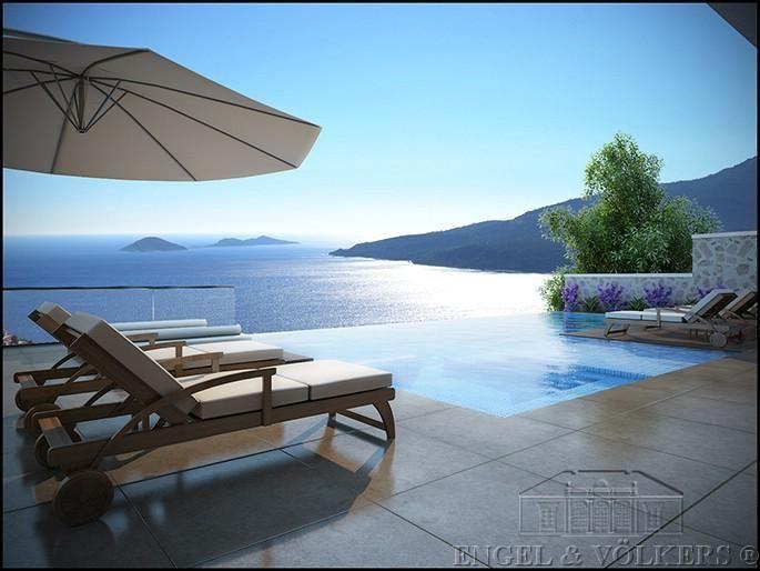 Luxus villa mit atemberaubenden meerblick