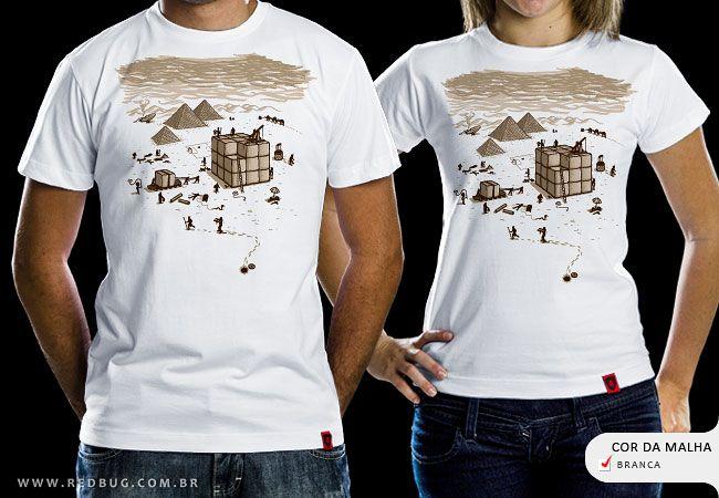 R$49.00 Catálogo - Camiseta Antigo Egito - Camisetas Red Bug