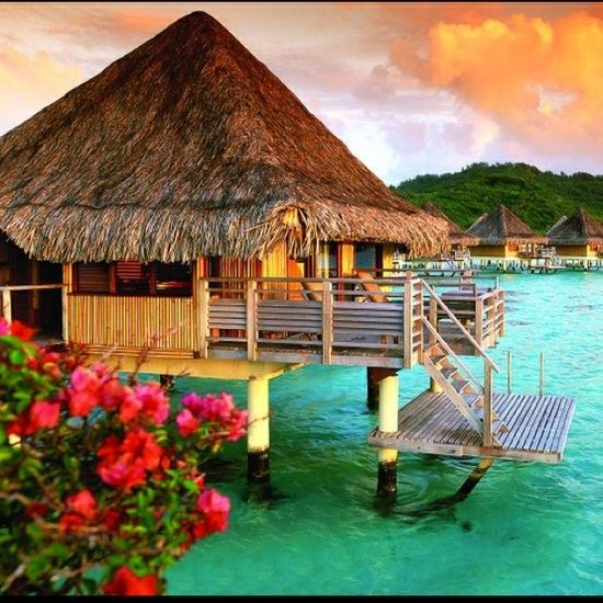 Bora Bora.... I'm not going to want to leave!