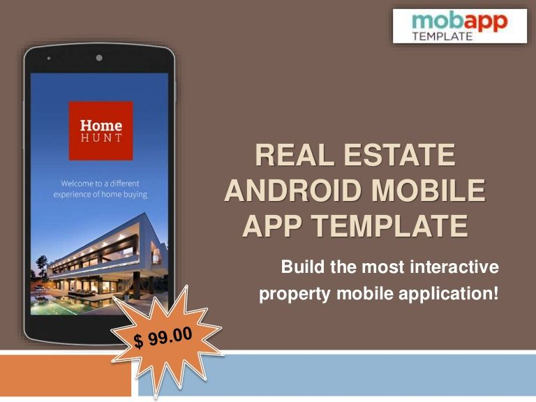 Develop the most successful and attractive property app with the - Application Template