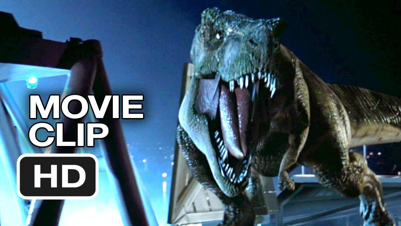 The Lost World: Jurassic Park (7/10) Movie CLIP - The T ... T Rex The Lost World Jurassic Park
