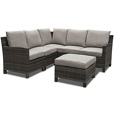 Jcp Outdoor Oasis Gabriel 6 Pc Sectional 960 In 06 2016 Outdoor Outdoor Furniture Outdoor Decor