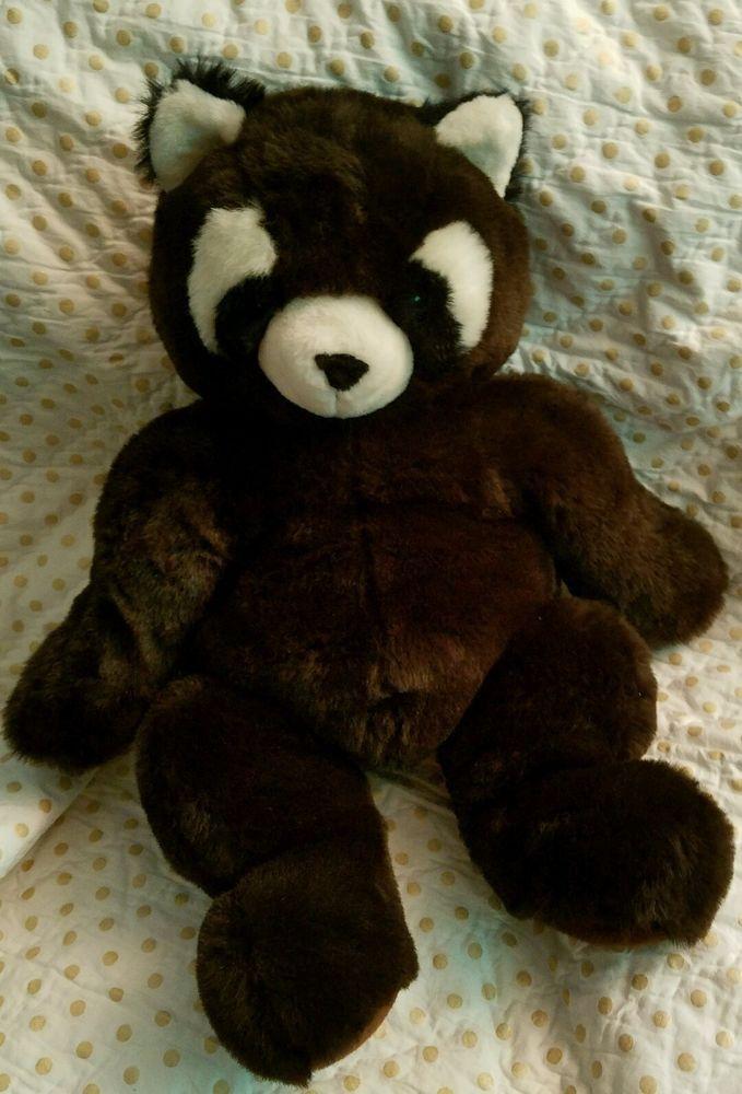 Red Panda Floppy Friends Raccoon Mervyns Stuffed Animal Brown Boy