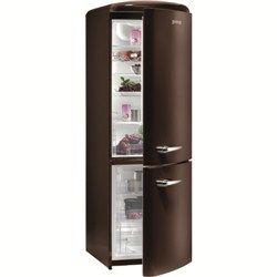 Gorenje Retro Style Freestanding Fridge Freezer in Chocolate