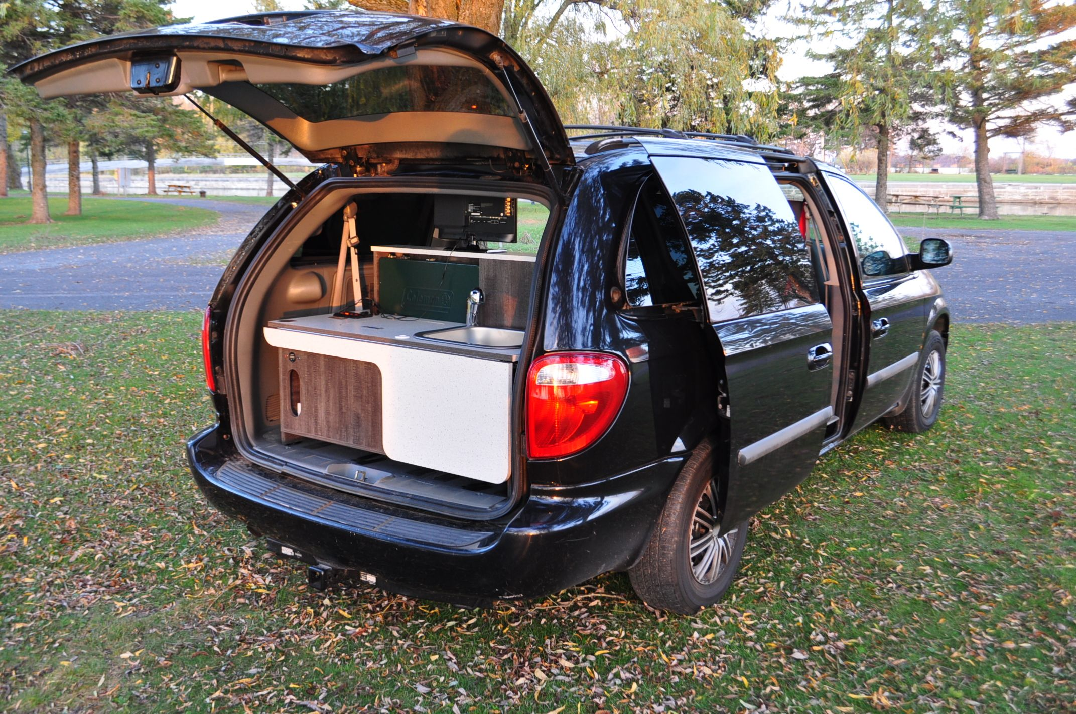 Removable Camper Kit Mini Van Camper