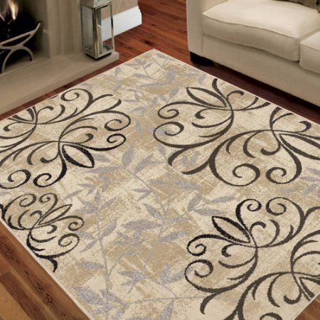 Better Homes And Gardens Iron Fleur Area Rug Available In Multiple Colors  And Sizes   Walmart