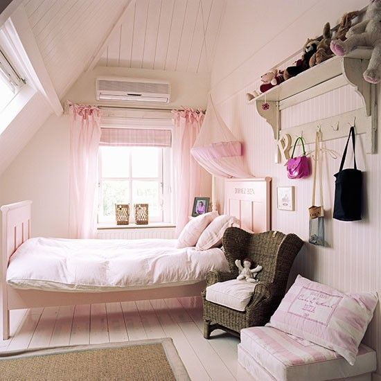 Bedroom Ideas For Teenage Girls Uk child's pink loft bedroom | children's room ideas | children's
