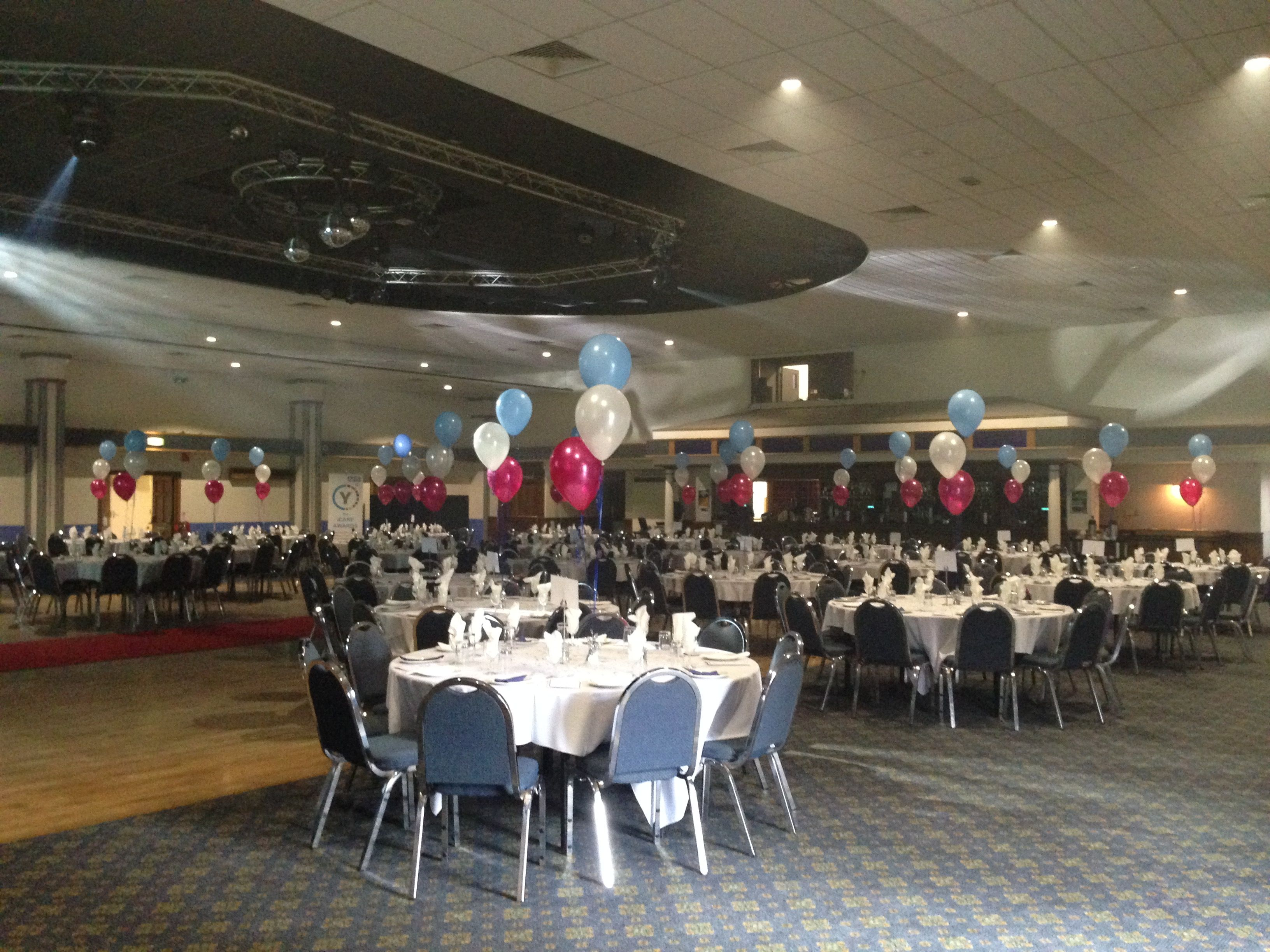 Balloons For Nhs Awards Ceremony Yeovil District Hospital At Westland Leisure Complex