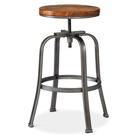 Dakota Adjustable Barstool Target Bar Stools Adjustable Bar