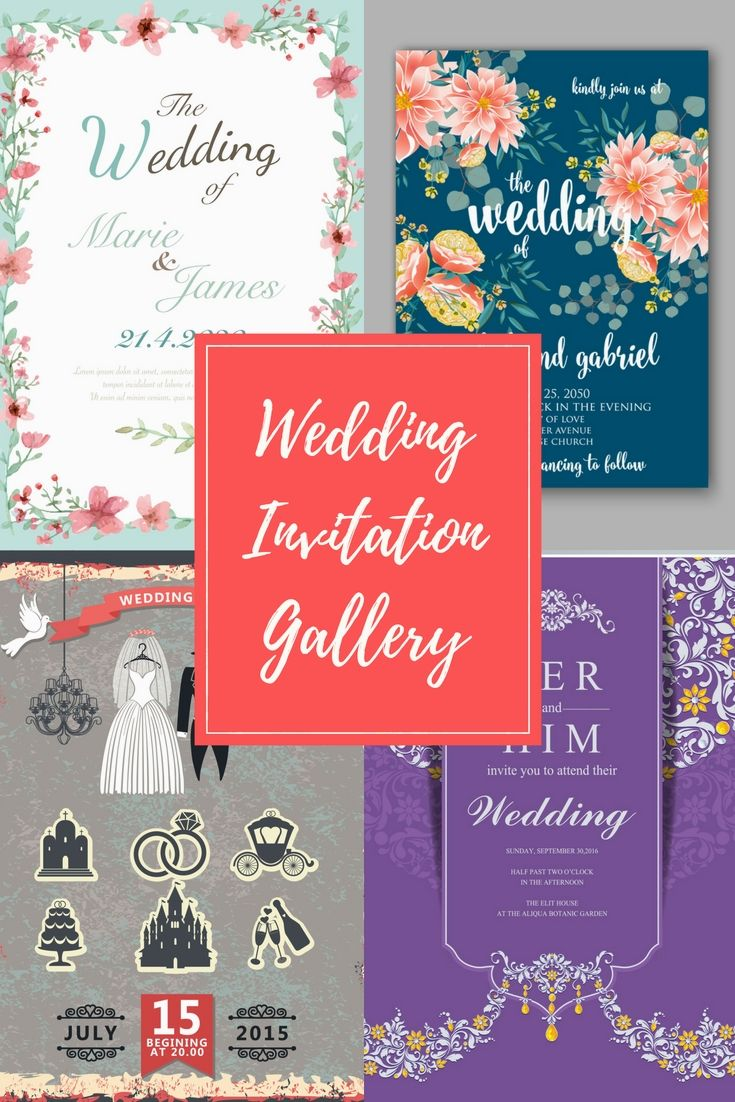 Cost-free Wedding Invitation Cards Illustrations - Get Started On ...