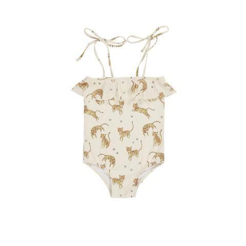 Badpak Tijgerprint.Rylee And Cru Swimsuit Onepiece Tigers Swimwear Inspiration