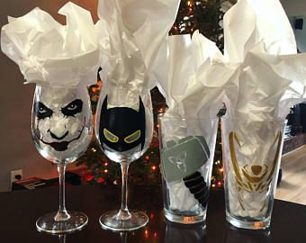 Kitchen Stuff · Superhero/Villian Glass