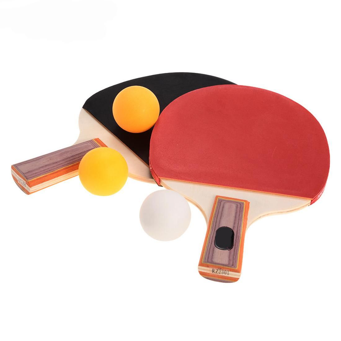Hot Sale 1 Pair Table Tennis Ping Pong Rubber Racket Paddle Bat Sports Training Black Or Red Wood Handle Yesterday S Price Us 14 1 Table Tennis Racket Rackets Ping Pong Paddles