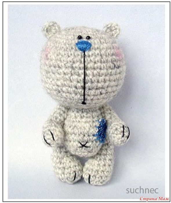 Mishutka from Suchnec - bear | free pattern crochet | Pinterest ...