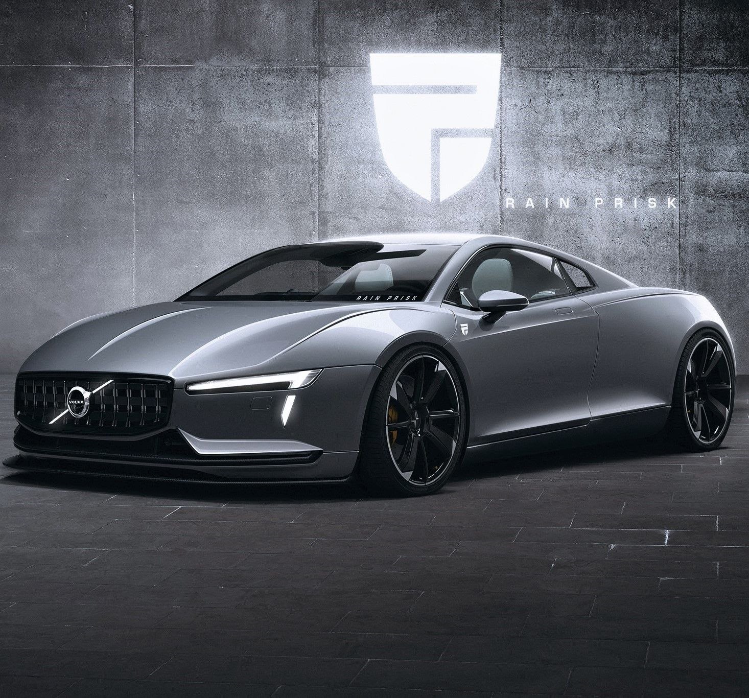 Volvo Electric Supercar By Rain Prisk - The MAN