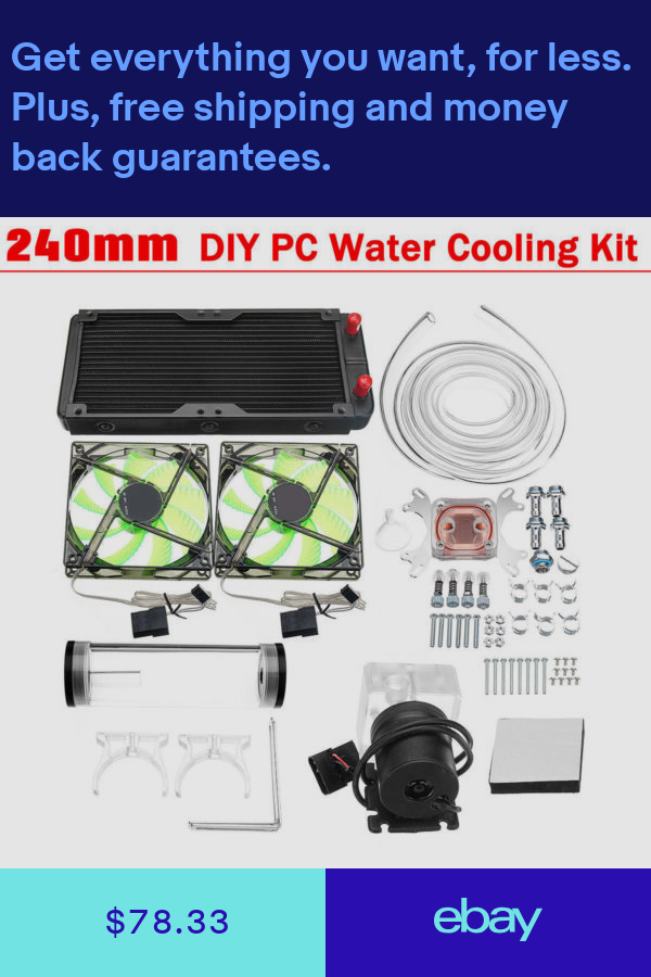Water Cooling Computers Tablets Networking Ebay Diy Pc
