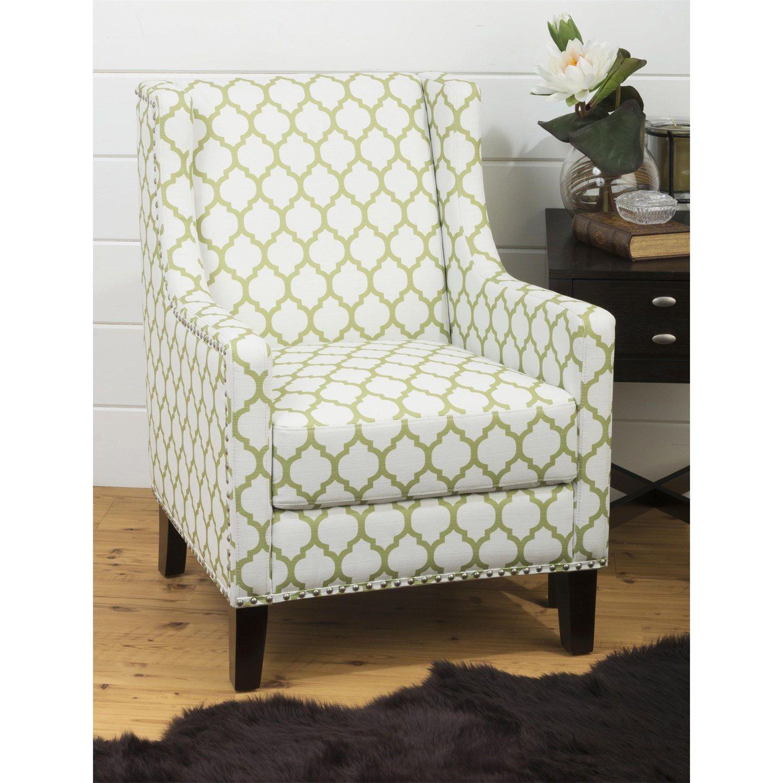 Jofran Jeanie Ch Jeanie Accent Chair With Silver Nailheads Dark