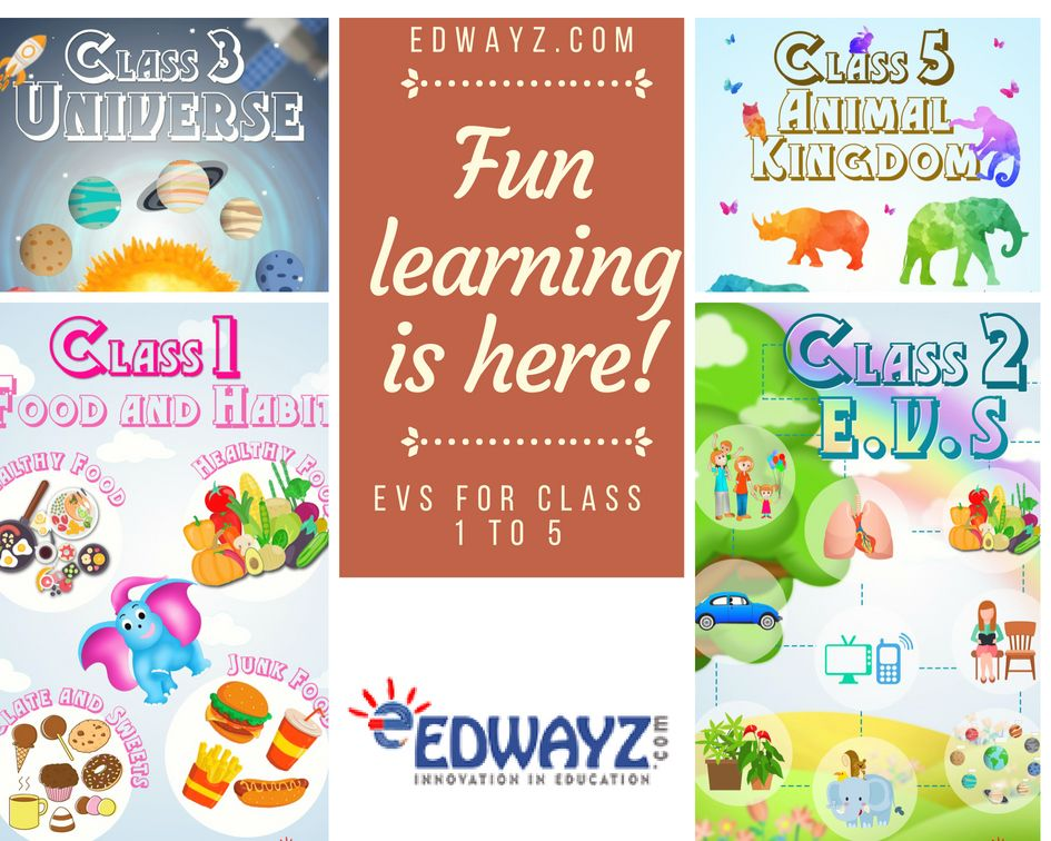 Worksheets Evs Class1 Class2 Class3 Class4 Class5