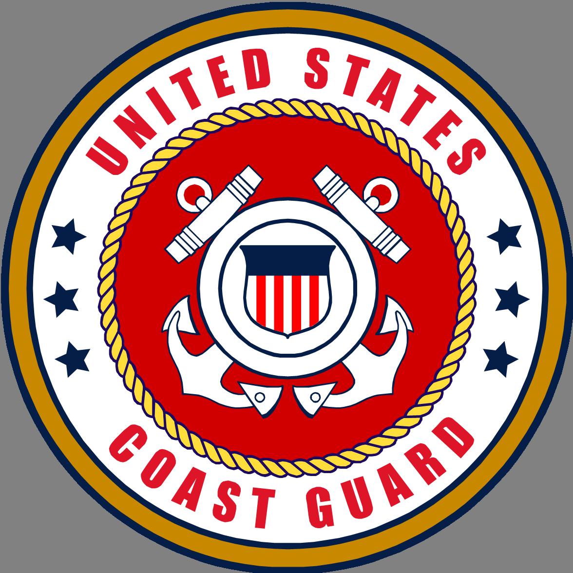 U S Coast Guard Emblem Coastguard Logo United States