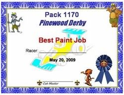 photograph relating to Pinewood Derby Awards Printable referred to as Customizable ability fact award certificates for pinewood