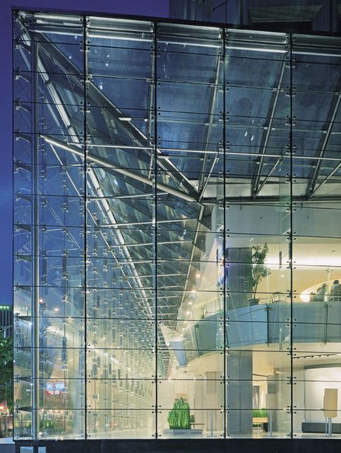 High Safety Laminated Glass Exterior Wall Curtain Wall Facade With