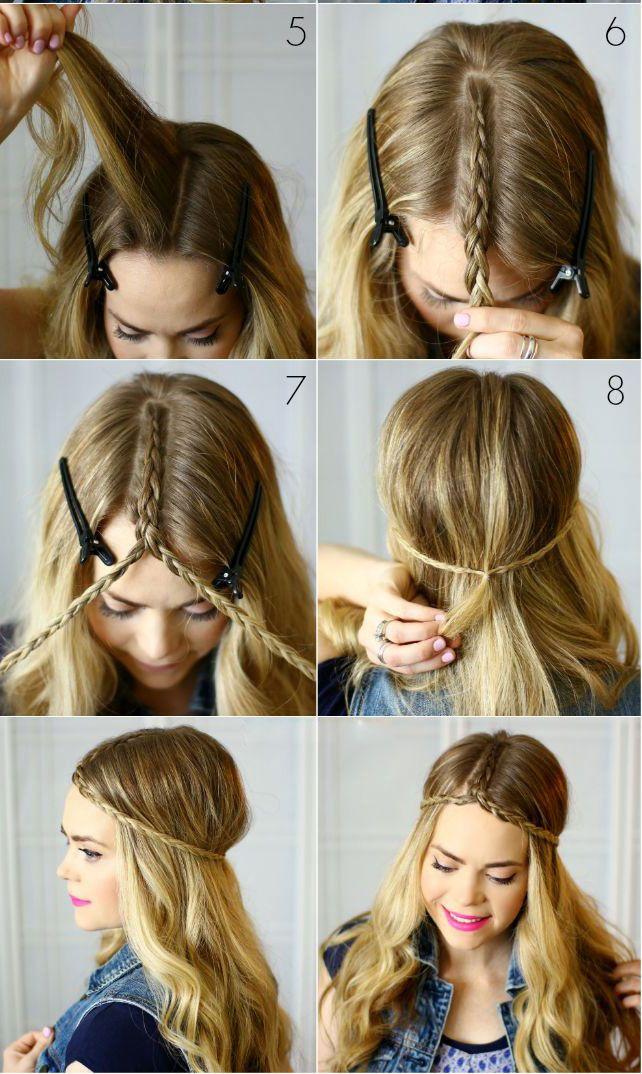 Banging peinados boho chic Galería de cortes de pelo tutoriales - peinados boho chic paso a paso - Buscar con Google | Hair ...