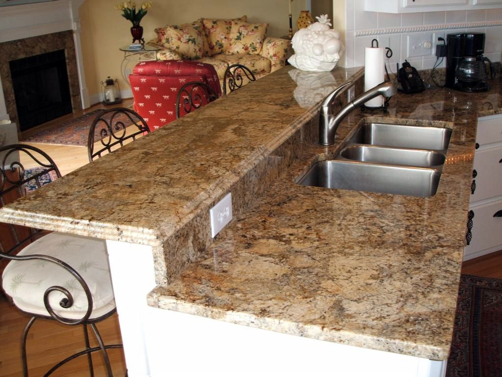 Blue barracuda granite kitchen countertop ideas - Granite Golden Crystal Kitchen And Bathroom Countertop Color For The Florida House For The Home Pinterest Florida Houses Granite And Countertop