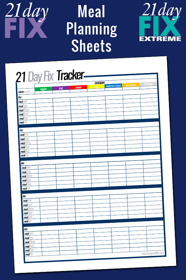 picture relating to 21 Day Fix Printable Meal Planner named Will need some 21 Working day Restore guidance? Such totally free printable 21 Working day Repair