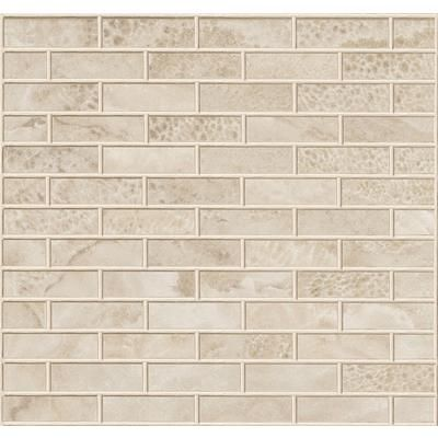 New Town 1 x 3 Frost Ice Colour Body Porcelain Brick