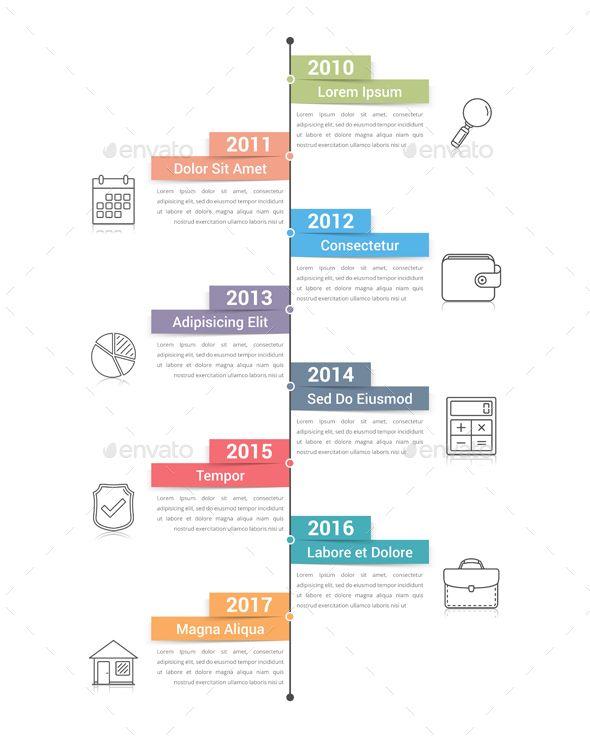 Timeline Infographics Template Psd Vector Eps Ai Illustrator