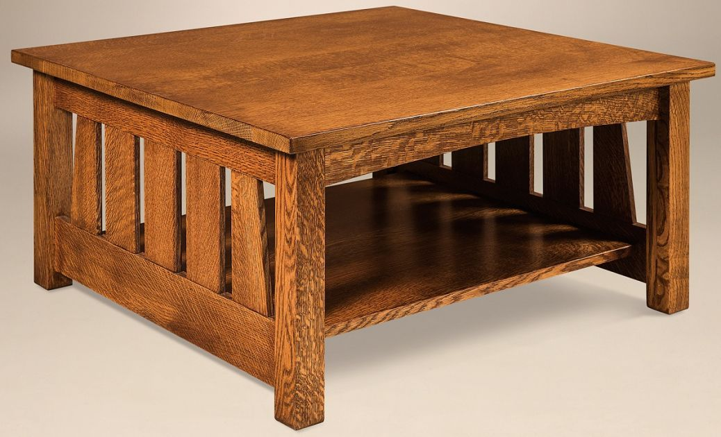 Carver Square Coffee Table Side Coffee Table Table Amish Furniture