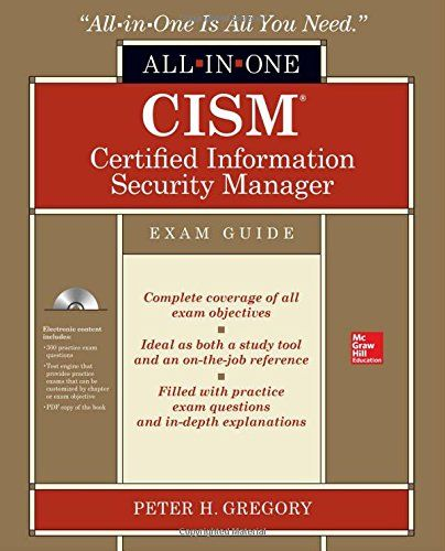 Cism Certified Information Security Manager All In One Exam Guide Exam Guide Exam Mcgraw Hill Education
