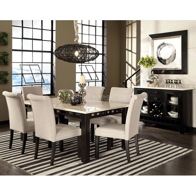 Gateway White Dining Set W Upholstered Chairs Dinette Sets Dining Room Sets Standard Furniture