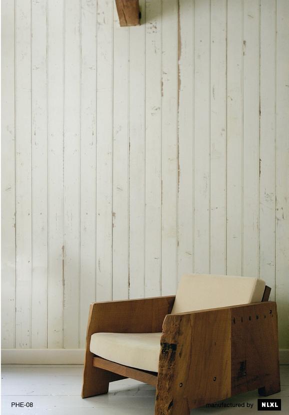 我們看到了 我們是生活 家 像是木板拼接的壁紙 或是漂亮的錫板