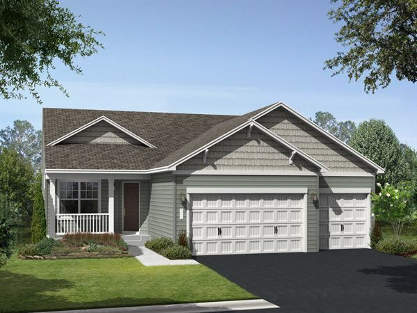 Image result for gray colored hip roof homes rambler ... on small house plans hip roof, rambler style house plans, two hip roof,