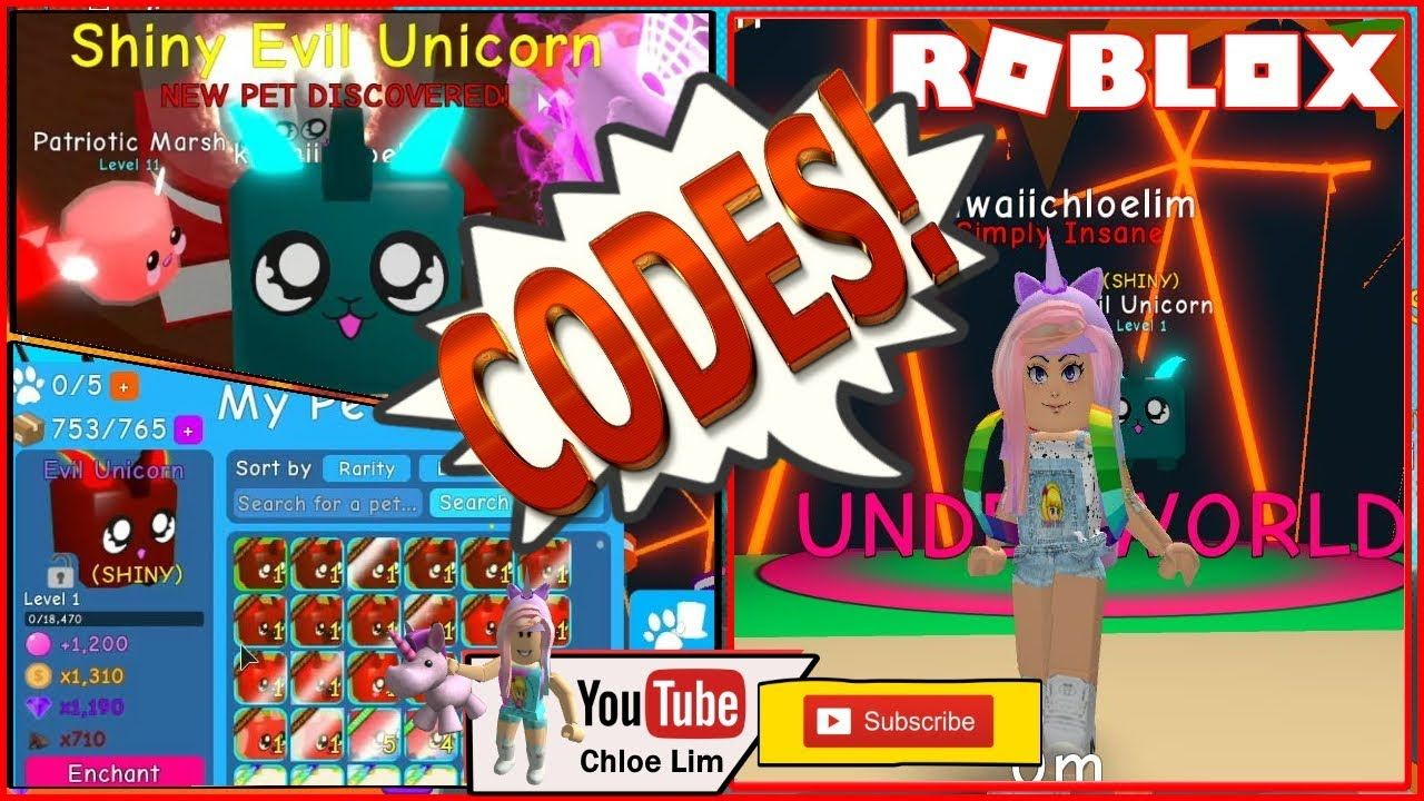 Roblox All New Codes In Elemental Royale Youtube Bubble Gum Simulator Codes New Underworld Hatching Eggs Loud Warning Underworld Bubbles Evil Unicorn