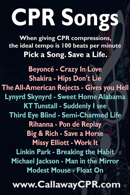 Pin By Ashton Hill On Health Cpr Songs Cpr Training Cpr