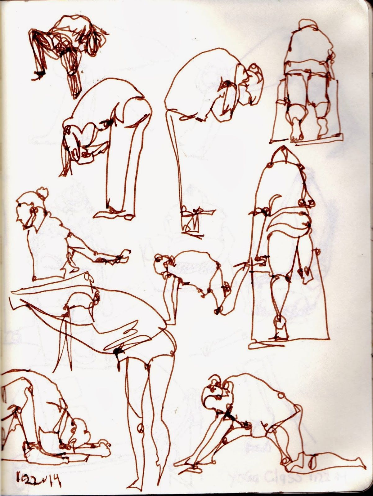 Affirmations Yoga Class San Diego Ca Urban Sketching Urban