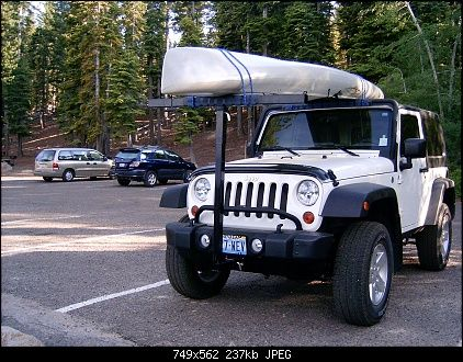 Canoe Kayak Rack For A Hard Top Kayak Rack Kayaking Jeep