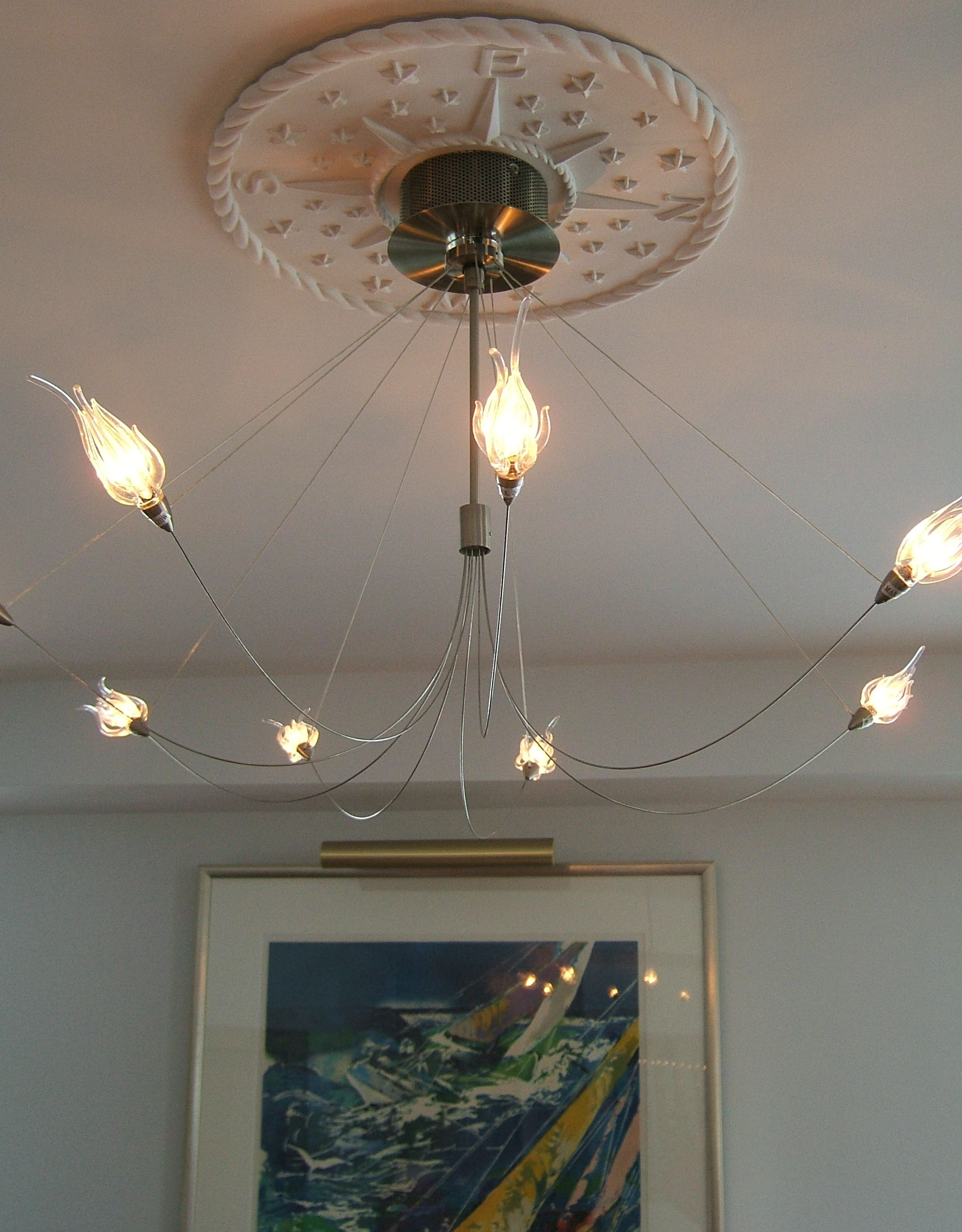 blog chandelier acanthus ceiling medallion hbm