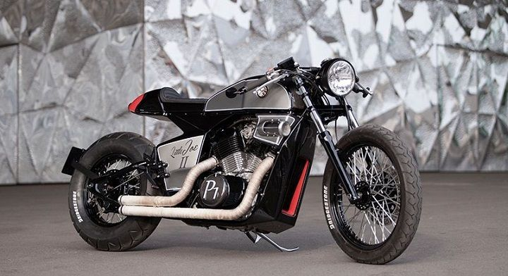 honda shadow vt600 cafe racer - rocket supreme. una transformación
