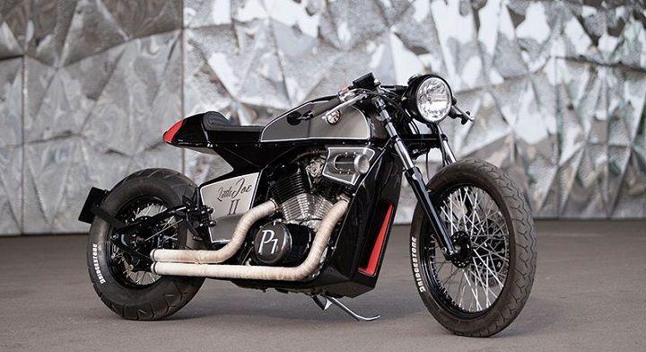 Honda Shadow Vt600 Cafe Racer Rocket Supreme Una Transformación