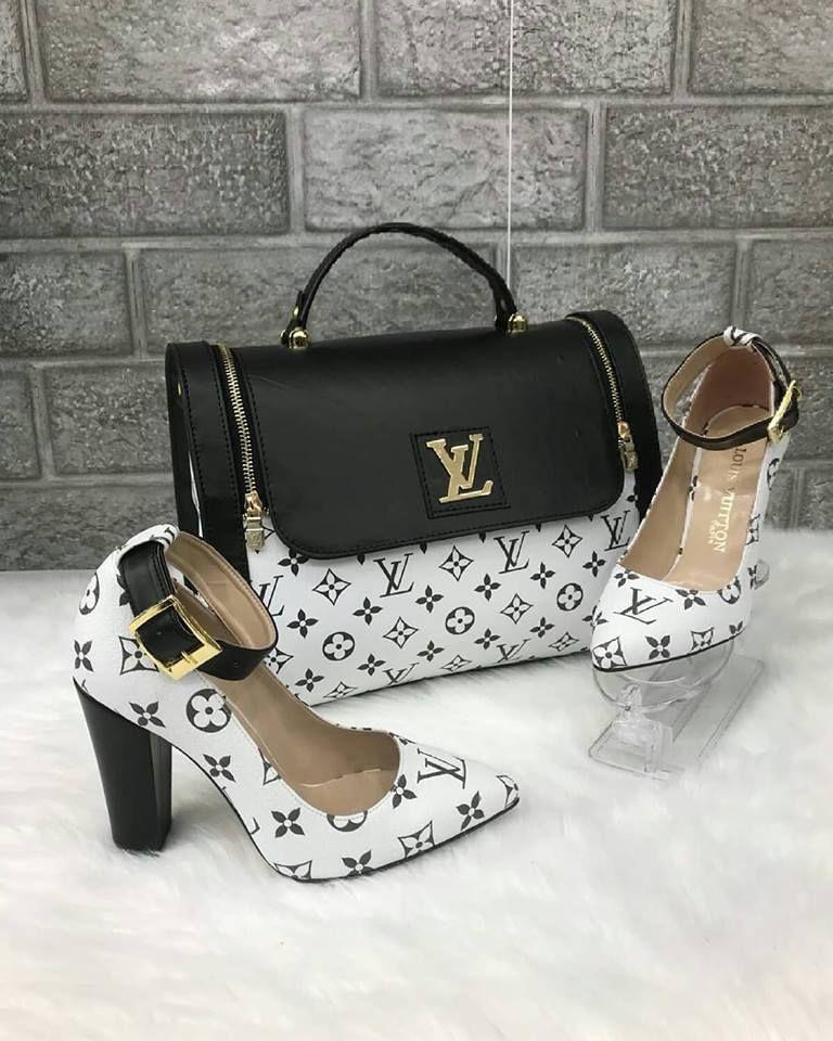 Louis Vuitton 2480 Canta Kalin Topuklu Ayakkabi Kombin Topuklular Lv Cantalar Topuklu Ayakkabilar